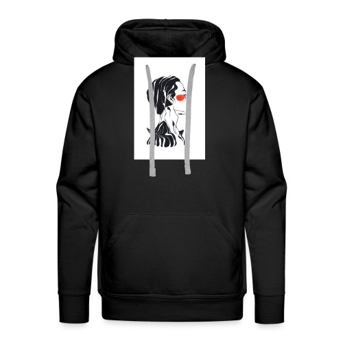 Necked - Mannen Premium hoodie