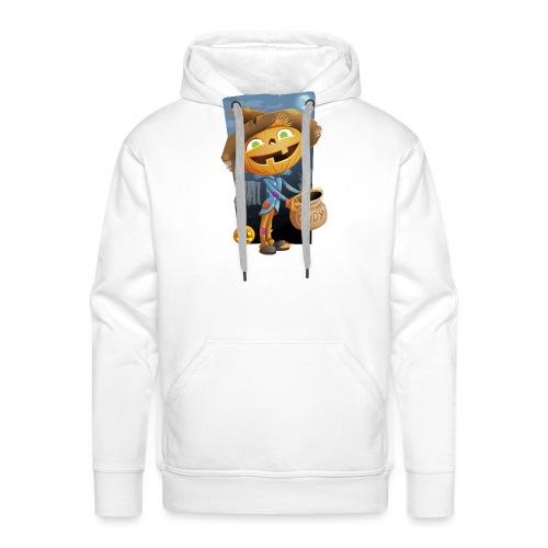Halloween Citrouille et Friandises - Sweat-shirt à capuche Premium pour hommes