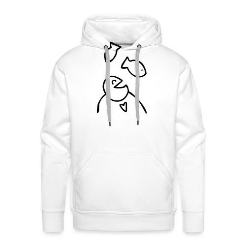 visman3 - Mannen Premium hoodie