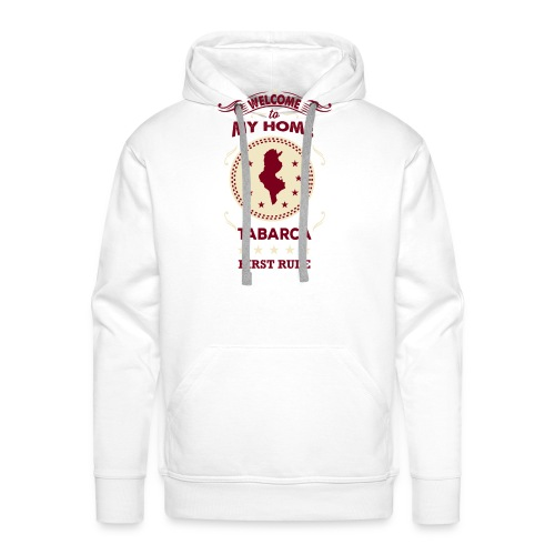 Welcome To My Home Tabarca - Men's Premium Hoodie