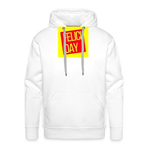 Feliciday - Sudadera con capucha premium para hombre