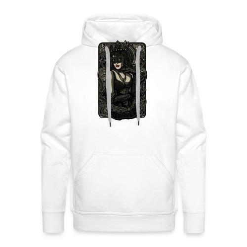 La Reine - Sweat-shirt à capuche Premium pour hommes