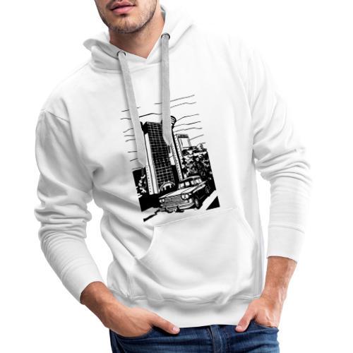 BEOGRAD GENEX TOWER - Felpa con cappuccio premium da uomo