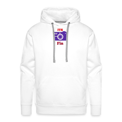 The logo stretch - Men's Premium Hoodie
