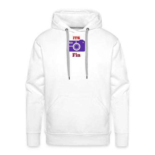 The logo stretch - Men's Premium Hoodie