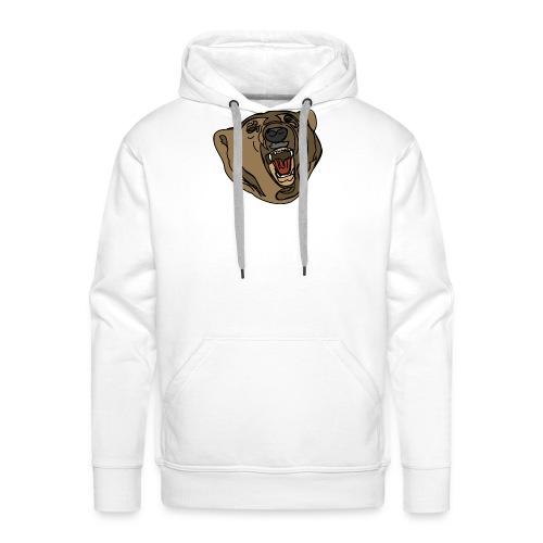 beer sweater (grey) - Mannen Premium hoodie
