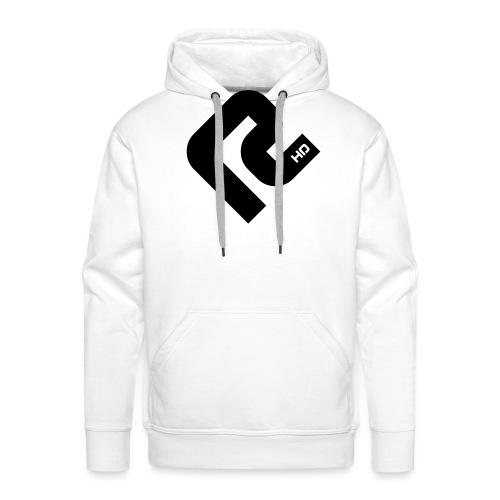 R-BLACK - Männer Premium Hoodie