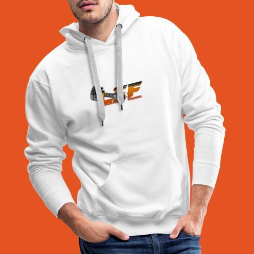LSFlogo - Sweat-shirt à capuche Premium pour hommes