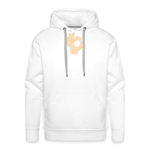 the hand - Mannen Premium hoodie