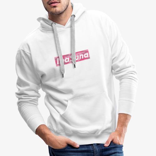 InaSuna CamoPink - Sweat-shirt à capuche Premium pour hommes