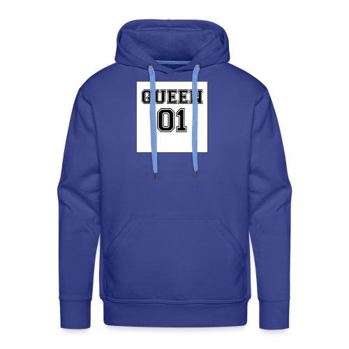 Queen 01 - Sweat-shirt à capuche Premium pour hommes