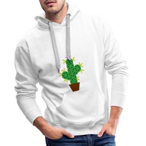 The Cactus Of Life - Sacred Plants - Men's Premium Hoodie