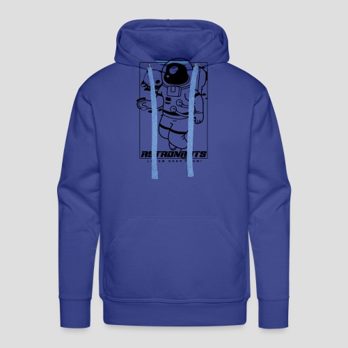 Astronauts loves Beerpong - Männer Premium Hoodie