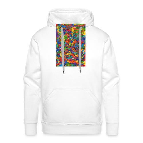 Color_Style - Sudadera con capucha premium para hombre