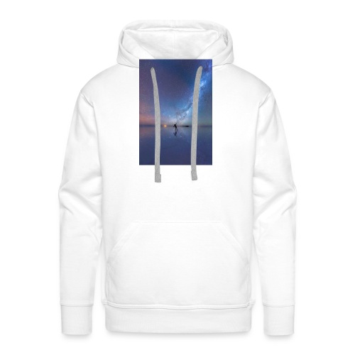 Człowiek i kosmos 6s Plus - Bluza męska Premium z kapturem