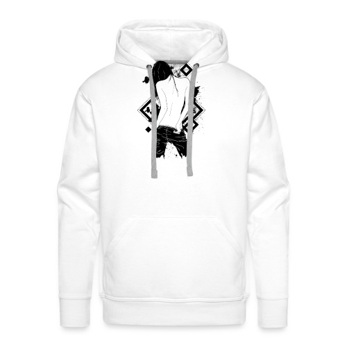 beautiful back - Männer Premium Hoodie