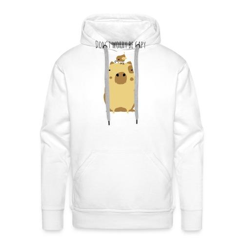 Wasserschwein Spruch - Männer Premium Hoodie