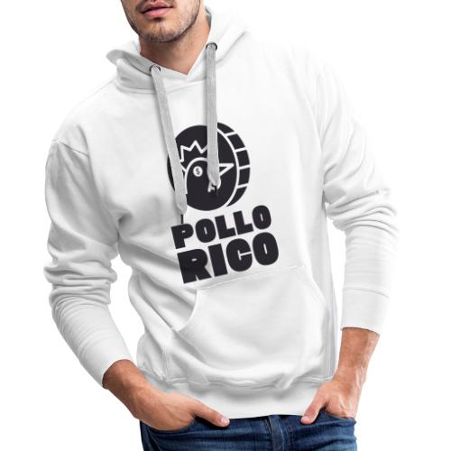 Pollo Rico Black - Sudadera con capucha premium para hombre