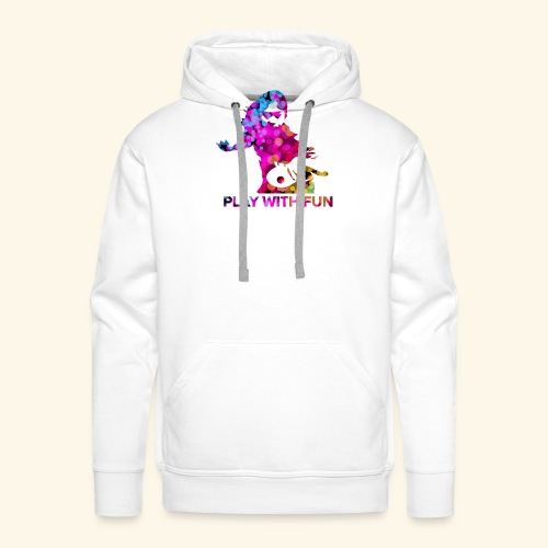 Play with Fun and Win the Championship - Männer Premium Hoodie