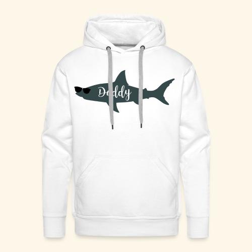 Daddy shark - Sudadera con capucha premium para hombre