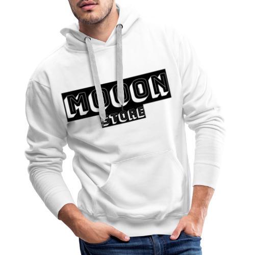 MOOON 🌙 - Sweat-shirt à capuche Premium pour hommes