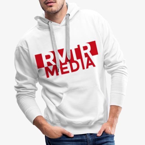 RVTR media red - Männer Premium Hoodie
