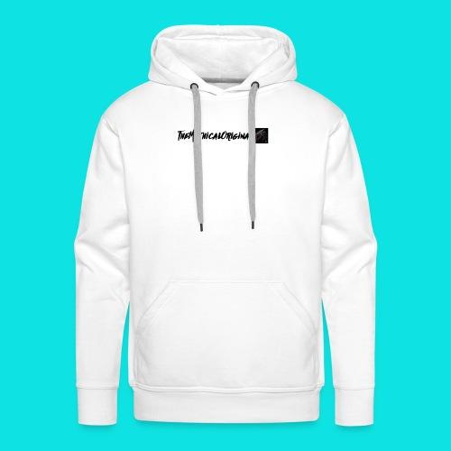 TheMythicalOriginal Design (White) - Men's Premium Hoodie