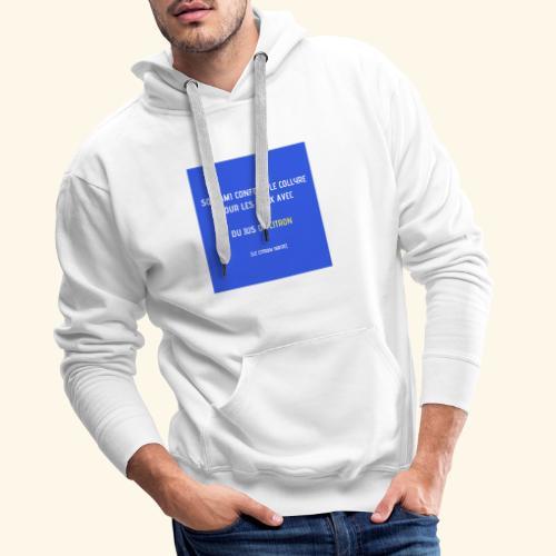 Le jus de zitoulien - Sweat-shirt à capuche Premium pour hommes