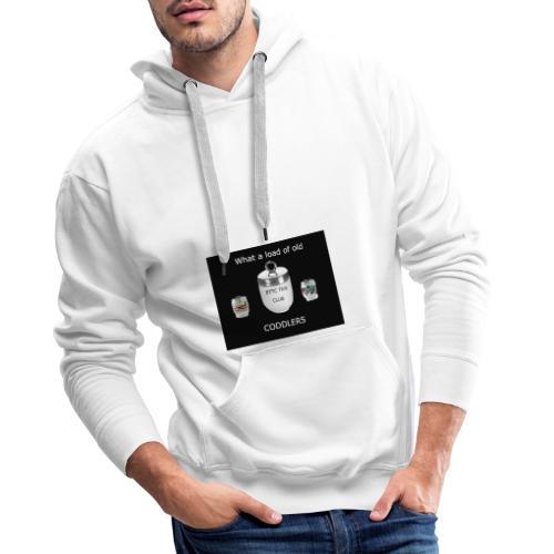 What a load - Sweat-shirt à capuche Premium pour hommes