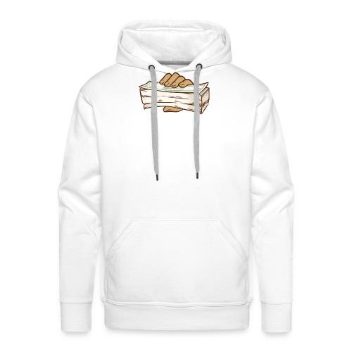 BANDZ All White Everything Tee - Men's Premium Hoodie