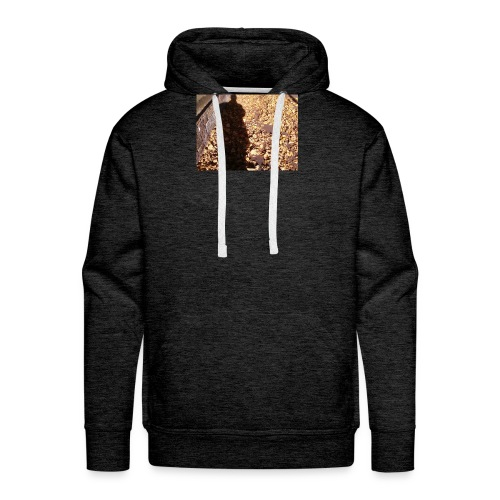 THE GREEN MAN IS MADE OF AUTUMN LEAVES - Men's Premium Hoodie