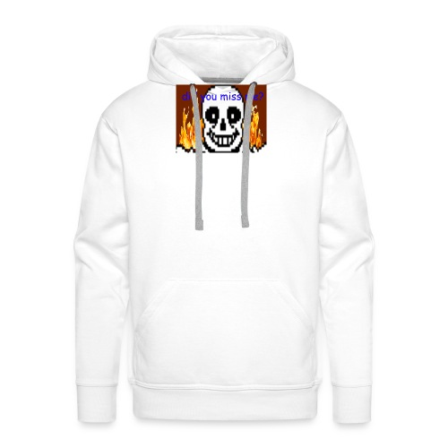 tshirt design - Premium hettegenser for menn