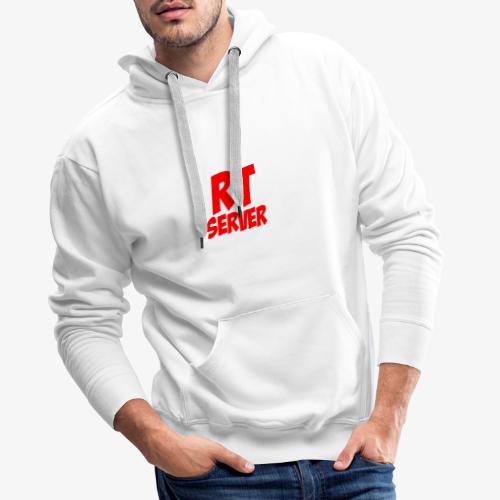 *Limited Edition* RTServer Merch - Mannen Premium hoodie