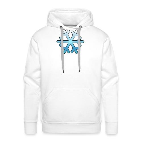 Schneeflocke - Männer Premium Hoodie