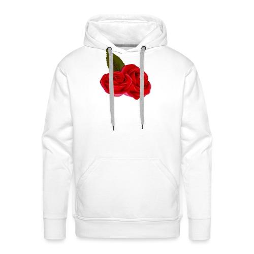 Rose d'amour - Sweat-shirt à capuche Premium pour hommes