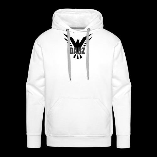 Witte shirt png - Mannen Premium hoodie