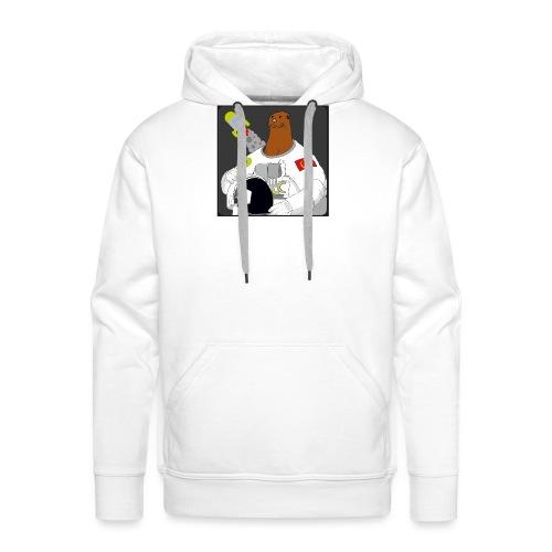 Otter space otter - Men's Premium Hoodie