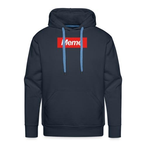 D-fault Meme Shirt - Mannen Premium hoodie