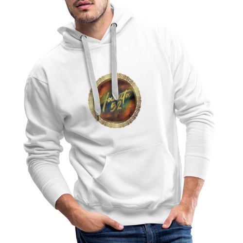 Hanuta52 Gold in Space - Männer Premium Hoodie