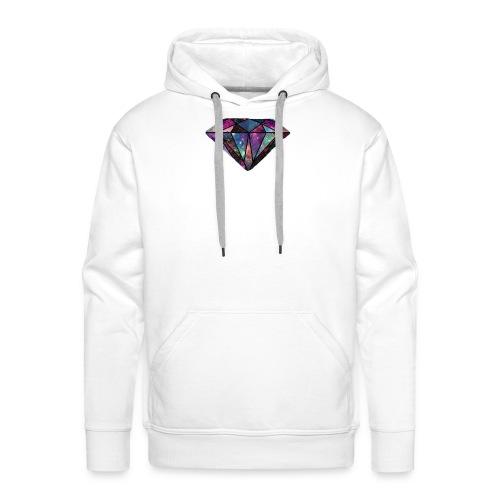 Colourful Diamond - Männer Premium Hoodie