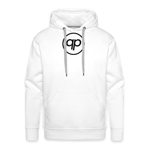 Logo EQP Noir - Sweat-shirt à capuche Premium pour hommes