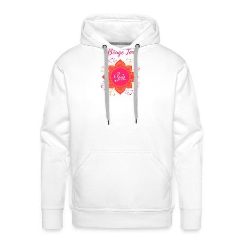 Bouge ton Love! - Sweat-shirt à capuche Premium pour hommes