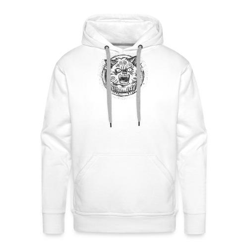 AngryCat - Bluza męska Premium z kapturem
