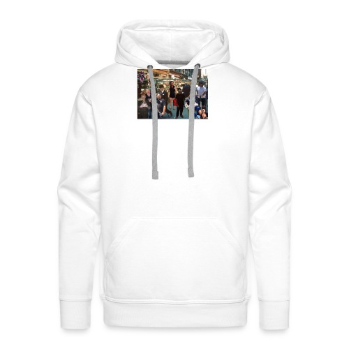 sweeps out and about - Men's Premium Hoodie