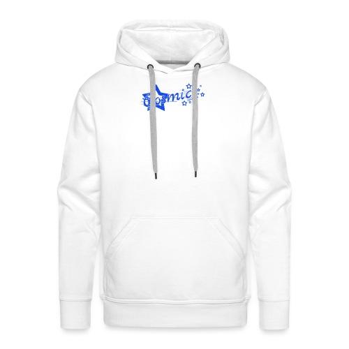 CosmicSound Blue - Männer Premium Hoodie