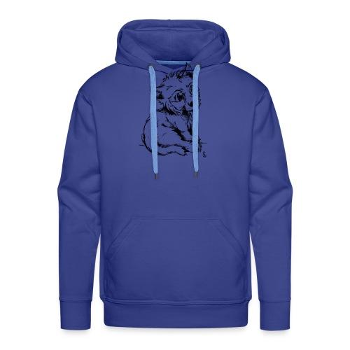 Louvetau - Sweat-shirt à capuche Premium pour hommes
