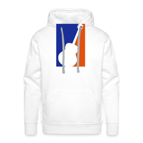 Gitarre (Baseball Style) - Männer Premium Hoodie