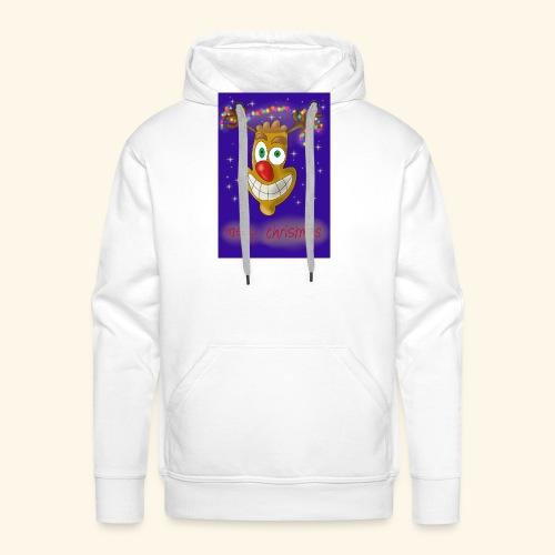 crazy reindeer - Männer Premium Hoodie