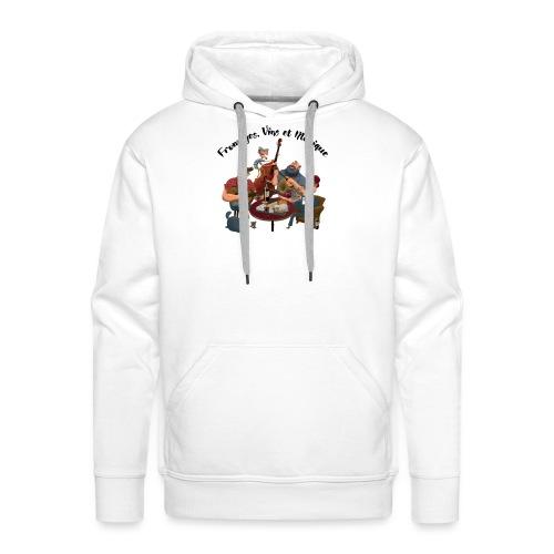FVM2021 - Sweat-shirt à capuche Premium pour hommes