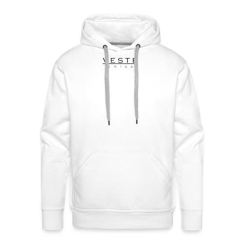 Mens white Vesta Unica Jacket - Men's Premium Hoodie